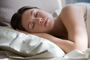 אישה דום נשימה בשינה